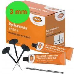Nagellochreparaturset Prema 3mm PCNO-1