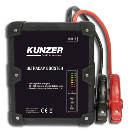 Kunzer CSC12 Ultracap-Booster Starting Aid