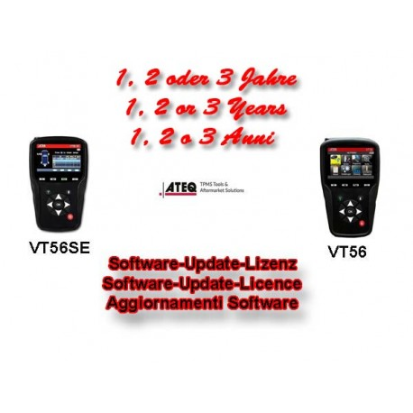 Ateq VT56 / VT56 SE Software Update Code