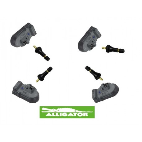 Alligator TPMS Set con Valvola di Gomma