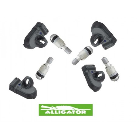 Alligator TPMS Set con Valvola Metallica
