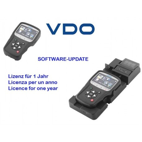 Software Update annual licence for VDO-TPMS-Pro